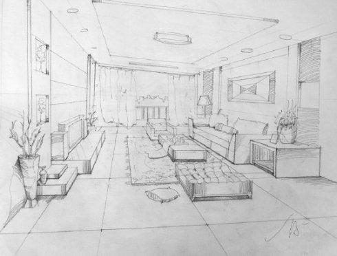 室内设计专业手绘图